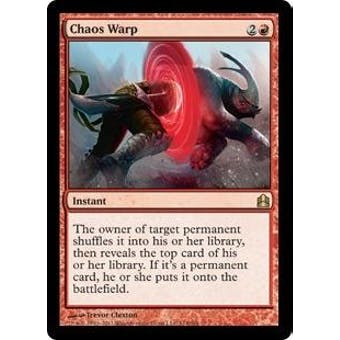 Magic the Gathering Commander Single Chaos Warp - NEAR MINT (NM)