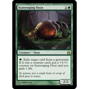 Magic the Gathering Commander Single Scavenging Ooze - NEAR MINT (NM)