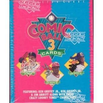 1992 Upper Deck Comic Ball Series 3 Baseball Hobby Box