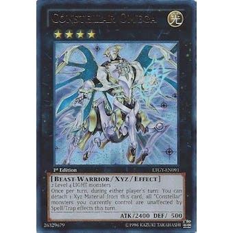 Yu-Gi-Oh Lord Tachyon Galaxy Single Constellar Omega Ultra Rare