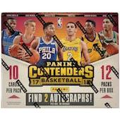 2017/18 Panini Contenders Basketball Hobby Box