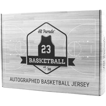 2018/19 Hit Parade Auto Basketball Jersey 1-Box Series 12- DACW Live 6 Spot Random Division Break #4
