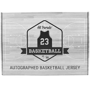 2019/20 Hit Parade Autographed Basketball Jersey Hobby Box - Series 17 - Zion, Luka & Ja!!