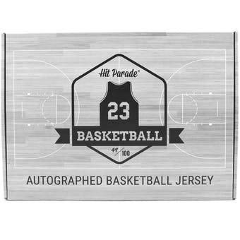 2020/21 Hit Parade Autographed Basketball Jersey - Series 8 - Hobby 10-Box Case - Zion, Curry & Durant!!!