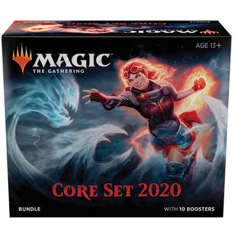 Magic the Gathering Core Set 2020 Bundle Box