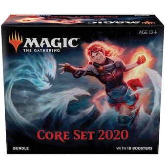 Magic the Gathering Core Set 2020 Bundle Box