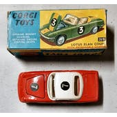 Corgi #319 Lotus Elan Coupe w/ Detachable Chassis