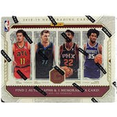 2018/19 Panini Cornerstones Basketball Hobby Box