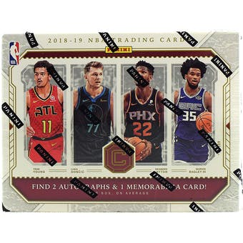 2018/19 Panini Cornerstones Basketball 12-Box Case- DACW Live 30 Spot Pick Your Team Break #3