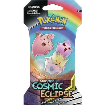 Pokemon Sun & Moon: Cosmic Eclipse Sleeved Booster 36 Packs = 1 Booster Box