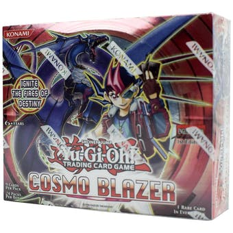 Yu-Gi-Oh Cosmo Blazer 1st Edition Booster Box