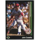 1989 Upper Deck John Costello St. Louis Cardinals #625 Black Border Proof