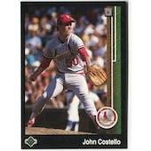 1989 Upper Deck John Costello St. Louis Cardinals #625 Black Border Proof