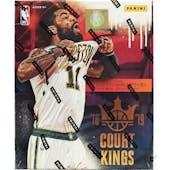 2018/19 Panini Court Kings Basketball Hobby Box