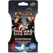 Marvel Captain America: Civil War Trading Cards Super Pack (Upper Deck 2016)