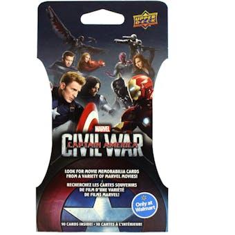 Marvel Captain America: Civil War Trading Cards Super Pack (Upper Deck 2016)