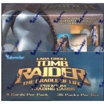 Tomb Raider Cradle of Life Hobby Box (2003 InkWorks)
