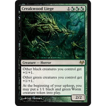 Magic the Gathering Eventide Single Creakwood Liege Foil