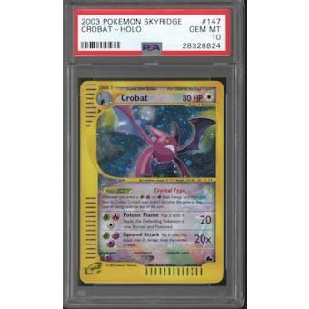 Pokemon Skyridge Crobat 147/144 PSA 10 GEM MINT