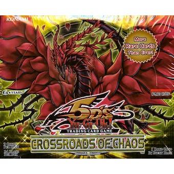 Upper Deck Yu-Gi-Oh Crossroads of Chaos Booster Box (EX-MT)