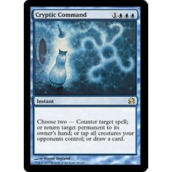 Magic the Gathering Modern Masters Single Cryptic Command - NEAR MINT (NM)