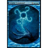 Magic the Gathering Promo Single Cryptic Command FOIL (TEXTLESS) - SLIGHT PLAY (SP)
