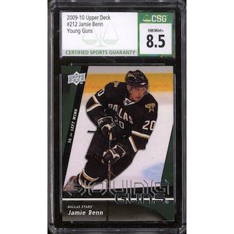 2009/10 Upper Deck Young Gun Jamie Benn CSG 8.5 card #212