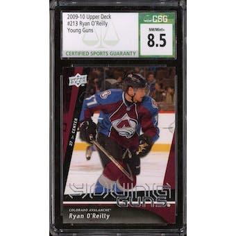 2009/10 Upper Deck Young Gun Ryan O'Reilly CSG 8.5 card #213