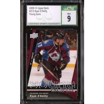 2009/10 Upper Deck Young Gun Ryan O'Reilly CSG 9 card #213