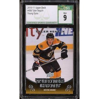 2010/11 Upper Deck Young Gun Tyler Seguin CSG 9 card #456