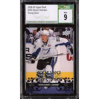 2008/09 Upper Deck Young Gun Steven Stamkos CSG 9 card #245