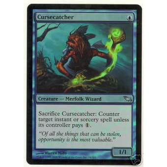 Magic the Gathering Shadowmoor Single Cursecatcher FOIL - SLIGHT PLAY (SP)