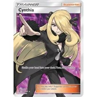 Pokemon Ultra Prism Single Cynthia 148/156 FULL ART - SLIGHT PLAY (SP) Sick Deal Pricing