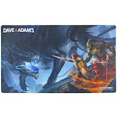 LIMITED EDITION Dave & Adam's Black Dragon Playmat