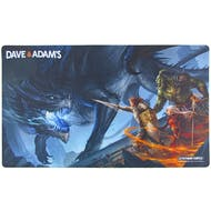 LIMITED EDITION Dave & Adam's Black Dragon Playmat