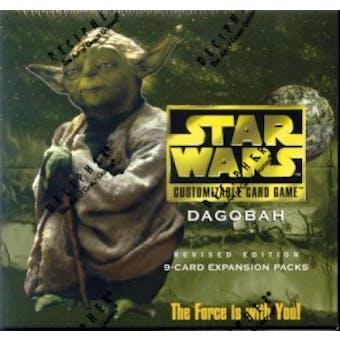 Decipher Star Wars Dagobah Revised Booster Box