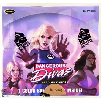 Marvel Dangerous Divas Trading Cards Box (Rittenhouse 2011)