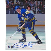 Danny Gare Autographed Buffalo Sabres HOF 8x10 Hockey Photo