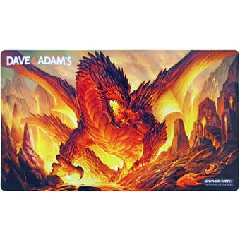 LIMITED EDITION Dave & Adam's Red Dragon Playmat