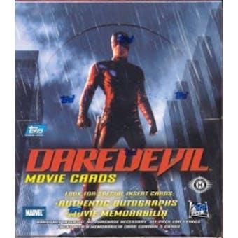 Daredevil Movie Cards Hobby Box (2003 Topps)
