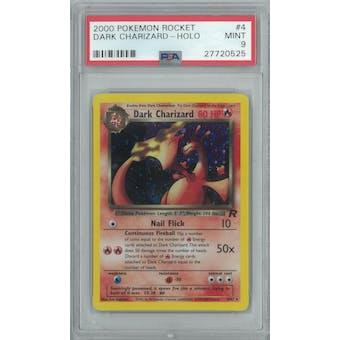 Pokemon Team Rocket Dark Charizard 4/82 PSA 9