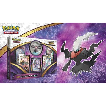 Pokemon Shining Legends Shiny Darkrai GX Figure Collection