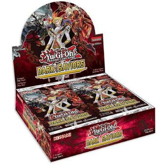 Yu-Gi-Oh Dark Saviors Unlimited Booster Box