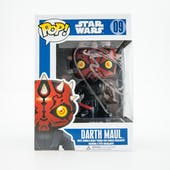 Ray Park Autographed Darth Maul Funko Star Wars Figure