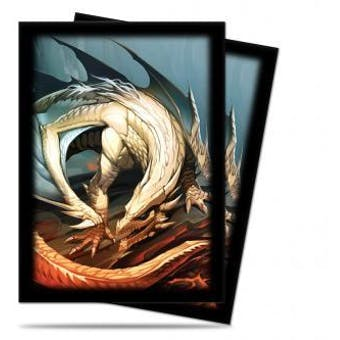 CLOSEOUT - ULTRA PRO DAYOOTE DRAGON BY MAURICIO HERRERA 50 COUNT STANDARD DECK PROTECTORS - 120 PACK CASE