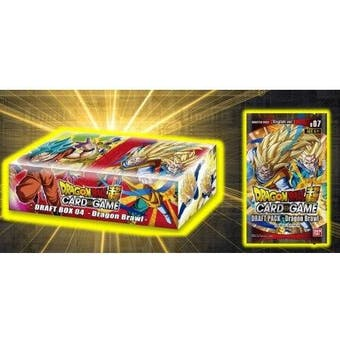 Dragon Ball Super TCG Draft Box 4 (4-Box Display)
