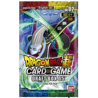 Dragon Ball Super TCG Draft Set 5 - Divine Multiverse - 4-Set Box (Presell)