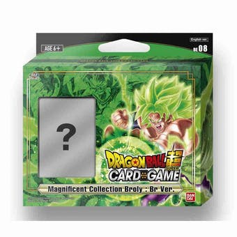 Dragon Ball Super TCG: Magnificent Collection - Broly : BR Ver. 6-Deck Box (Presell)