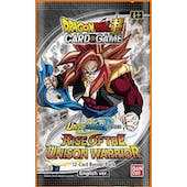 Dragon Ball Super TCG Rise of the Unison Warriors 12-Box Case (Presell)