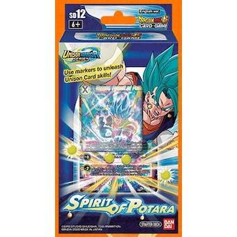 Dragon Ball Super TCG Rise of the Unison Warriors: Spirit of Potara Starter Deck